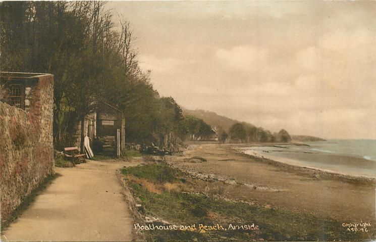 BOATHOUSE AND BEACH