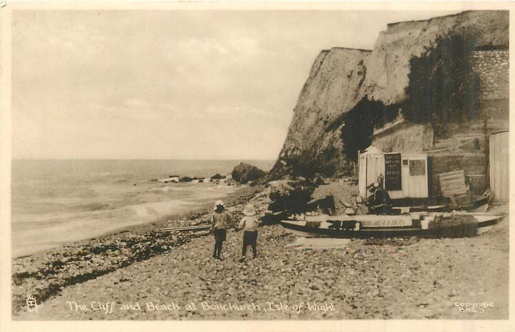 THE CLIFFS AND BEACH