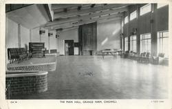 THE MAIN HALL, GRANGE FARM