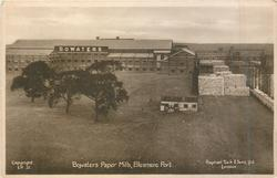BOWATERS PAPER MILLS