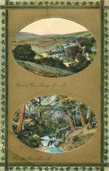 GENERAL VIEW, LAXEY, I.O.M.//GROUDLE GLEN, I.O.M.