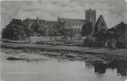 PRIORY from across river