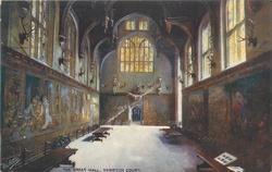 THE GREAT HALL, HAMPTON COURT