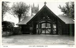 LYCH GATE, KIRKMICHAEL, I.O.M.