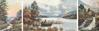 MARY GLEN and CONISTON LAKE and STONEGBRIDGE FALLS