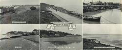 "6 insets and titled WHITSTABLE, SEASALTER GOLF COURSE and THE BEACH AND SLOPES, TANKERTON and THE HARBOUR and THE BEACH and TANKERTON AND SLOPES FROM ""THE STREET"" and THE BEACH AND SLOPES, TANKERTON"