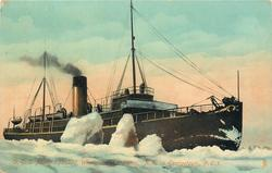 D.G.S. MINTO ICEBOUND, WINTER SERVICE PICTOU, N.S. TO GEORGETOWN, P.E.I.