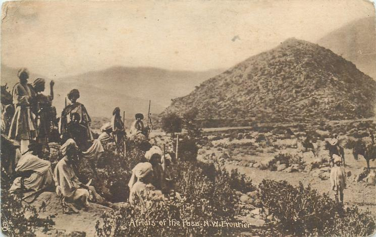 AFRIDIS OF THE PASS, N.W. FRONTIER