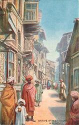 NATIVE STREET SCENE, N.W. INDIA