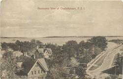 PANORAMIC VIEW OF CHARLOTTETOWN, P.E.I.
