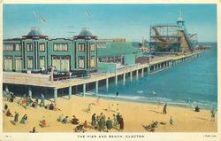 THE PIER AND BEACH