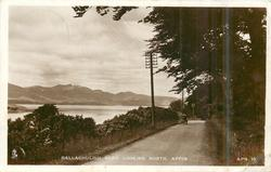 BALLACHULISH ROAD LOOKING NORTH