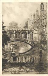 BRIDGE OF SIGHS, ST. JOHN'S COLLEGE