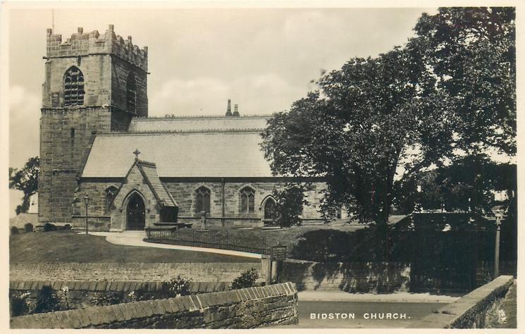 BIDSTON CHURCH