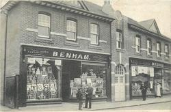 double shop-front from left front (BENHAM)