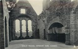 EARL'S PALACE, INTERIOR VIEW