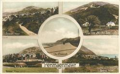 5 insets GENERAL VIEW (3 insets) and VIEW FROM MOUNTAIN LANE and THE PROMENADE