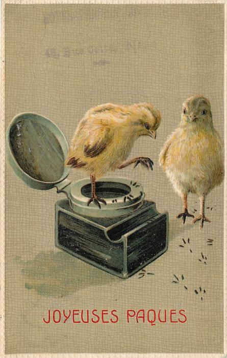 two chicks & inkwell