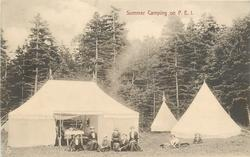 SUMMER CAMPING ON P.E.I.