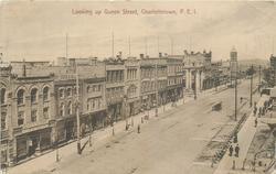 LOOKING UP QUEEN STREET