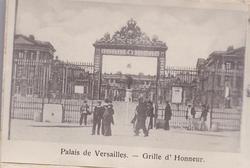 PALAIS DE VERSAILLES- GRILLE D'HONNEUR
