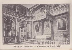 PALAIS DE VERSAILLES- CHAMBRE DE LOUIS XIV
