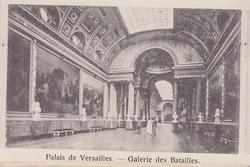 PALAIS DE VERSAILLES- GALERIE DES BATAILLES
