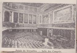 PALAIS DE VERSAILLES- SALLE DES CONGRES