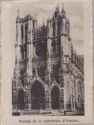 PORTAIL DE LA CATHEDRAL D'AMIENS