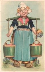 Dutch milk-maid