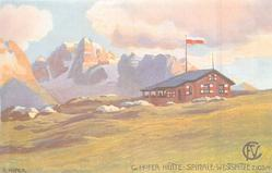 G. HOFER  HUTTE SPINALE ,  WESTSPITZE 2103M.