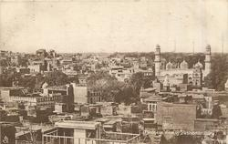 BIRD'SEYE VIEW OF PESHAWAR CITY