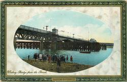 WALNEY BRIDGE FROM THE BEACH
