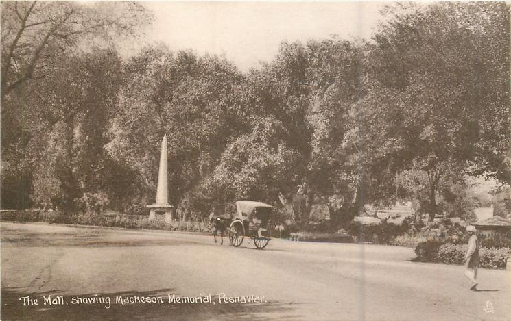 THE MALL, SHOWING MACKESON MEMORIAL