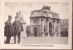 L'ARC DE TRIOMPHE DU CARROUSEL