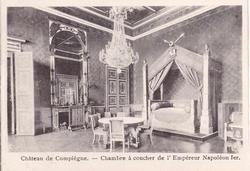 CHATEAU DE COMPIEGNE- CHAMBRE A COUCHER DE L'EMPEREUR NAPOLEON IER