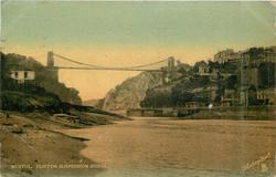 CLIFTON SUSPENSION BRIDGE, distant view