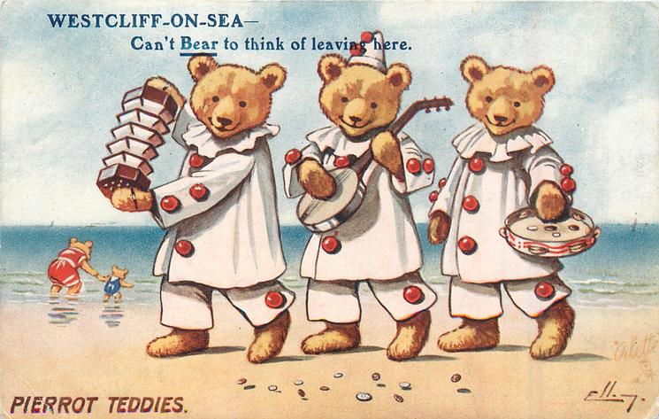 PIERROT TEDDIES