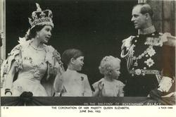 THE CORONATION OF HER MAJESTY QUEEN ELIZABETH, JUNE 2ND, 1953