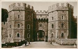 HENRY VIII'S GATE, WINDSOR