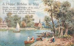 comes opt. in black A HAPPY BIRTHDAY TO YOU