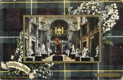 CENTRAL HALL, ART GALLERIES, CAMPBELL tartan