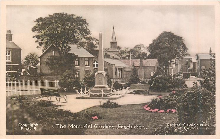THE MEMORIAL GARDENS