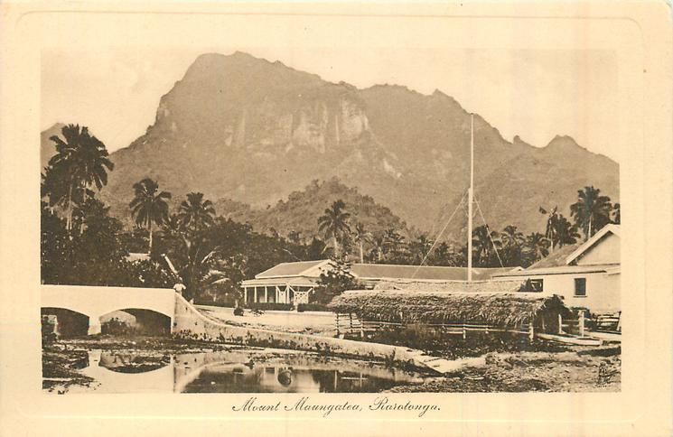 MOUNT  MAUNGATEA RAROTONGA