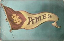 Flag of IOWA STATE COLLEGE AT AMES -- bsck title