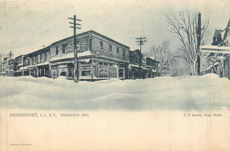 DECEMBER 1904  snow scene