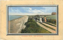 HUNSTANTON NORTH CLIFF AND BEACH