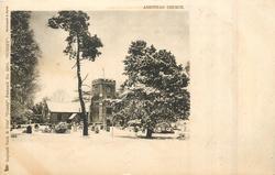 ASHSTEAD CHURCH (ASHTEAD misspelt)