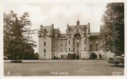 FYVIE CASTLE front view