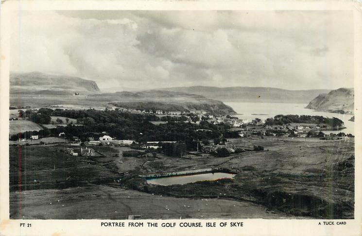 PORTREE FROM THE GOLF COURSE